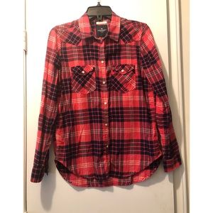 American Eagle Boyfriend Fit Flannel